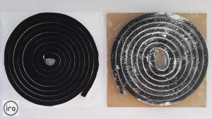 two types of bentonite strips